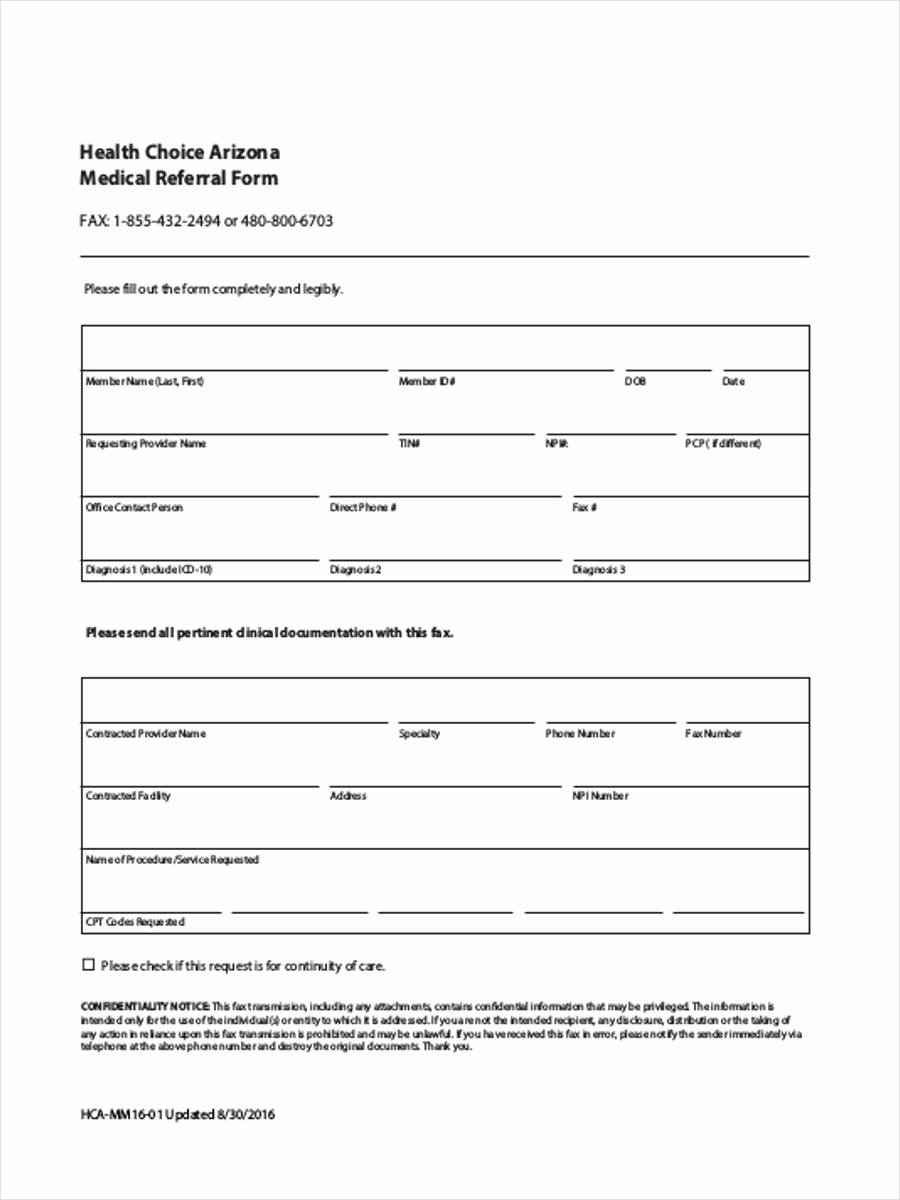 Referral form Template Word New Medical Referral form 8 Free Documents In Word Pdf