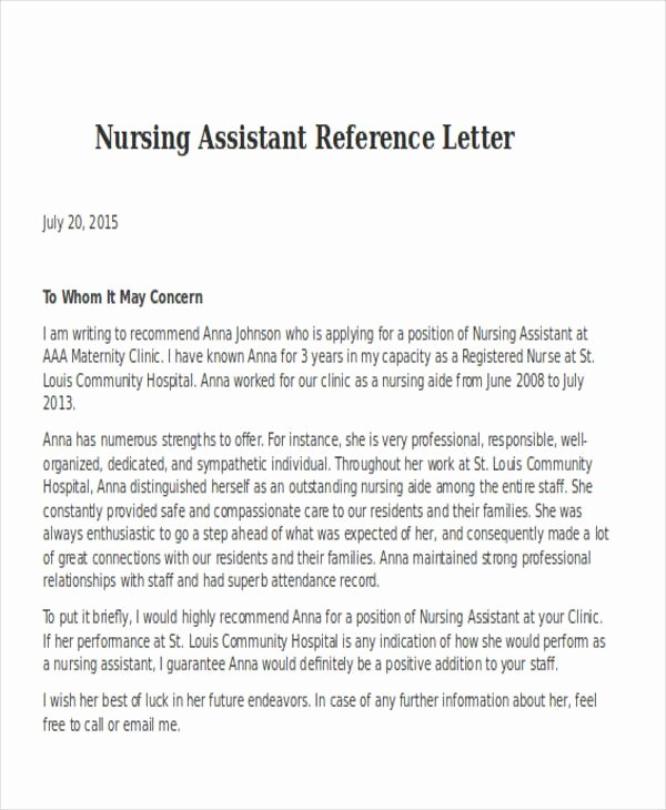 Registered Nurse Cover Letter Example Best Of Registered Nurse Reference Letter Samples Cover Letters