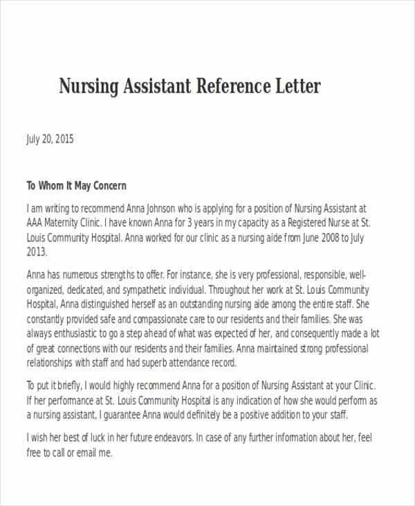 Registered Nurse Cover Letter Example Best Of Registered Nurse Reference Letter Samples Cover Letters