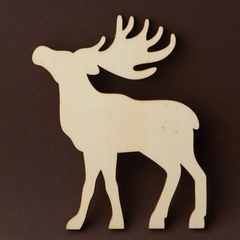 Reindeer Cut Out Pattern Inspirational Unfinished Wood Reindeer Cutout Wood Cutouts Wood