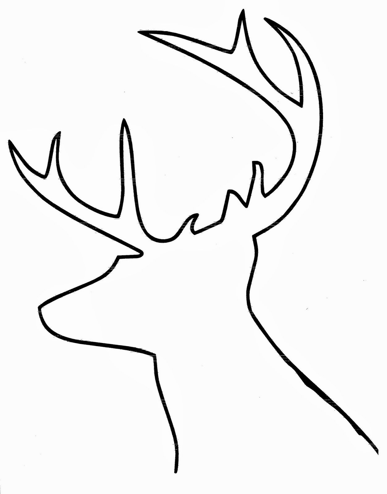Reindeer Cut Out Template Inspirational Diy Buffalo Check Reindeer Art Hymns and Verses