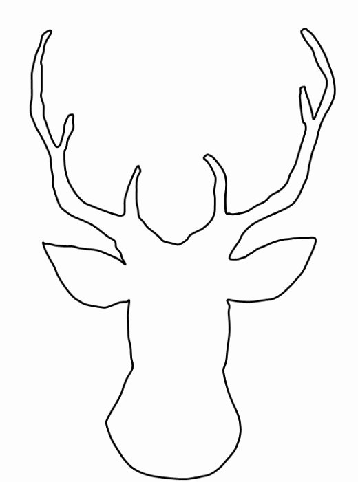 Reindeer Cut Out Template Inspirational How to Make A Reindeer Christmas Card without Any Special