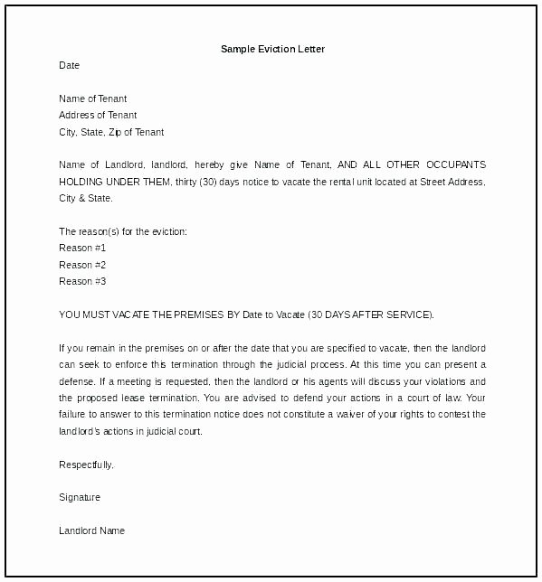 Rental 30 Day Notice Template Beautiful Template for 30 Day Notice to Landlord – Stagingusasportfo