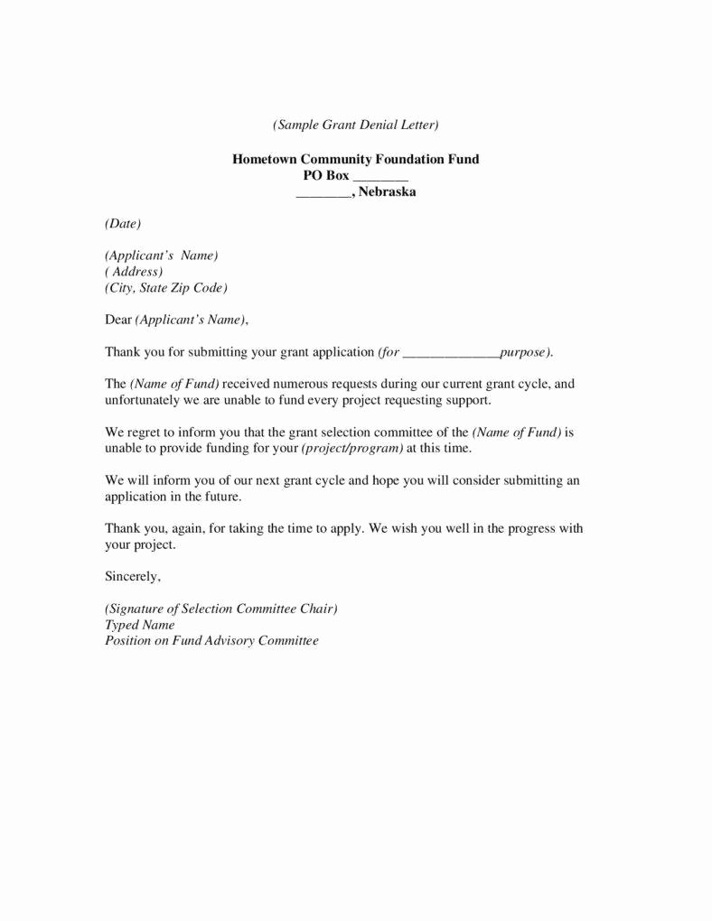 Request for Proposal Rejection Letter Luxury 9 Business Proposal Rejection Letters