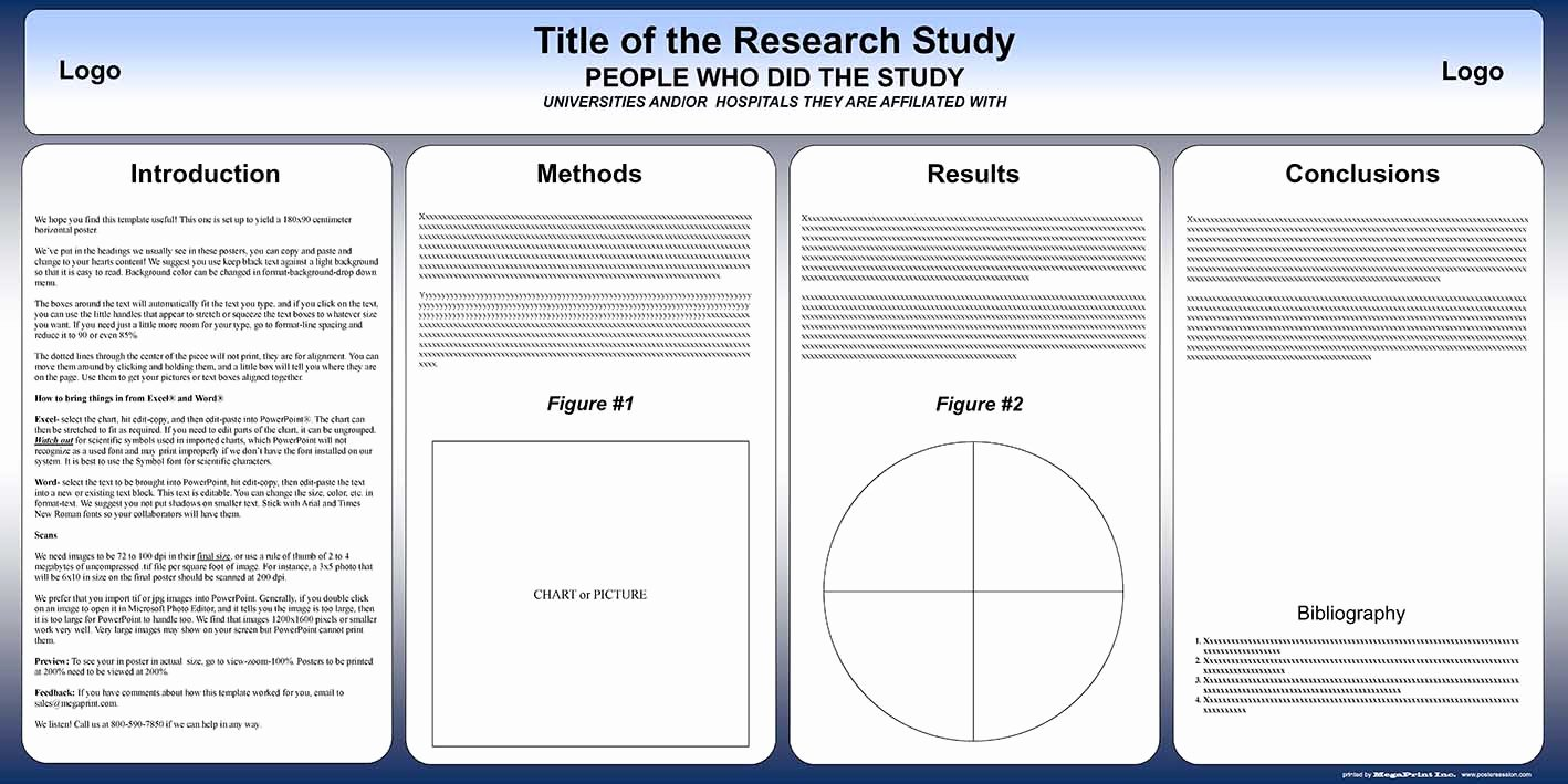 Research Poster Templates Free Elegant Free Powerpoint Scientific Research Poster Templates for