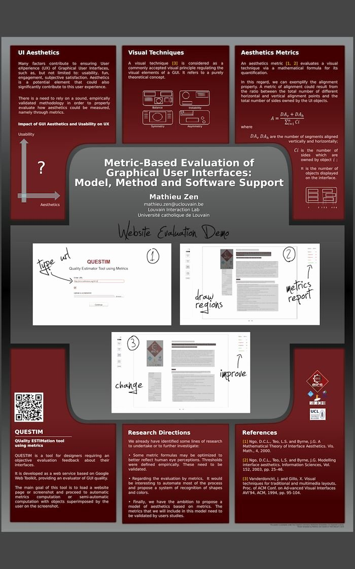 Research Poster Templates Free Elegant Poster Template