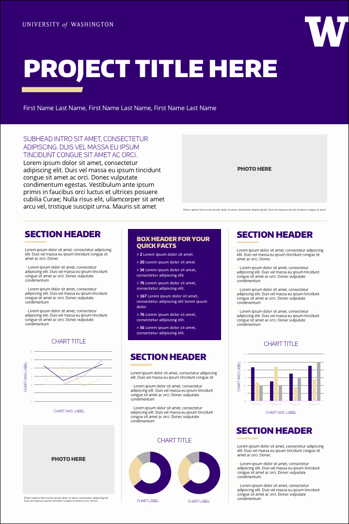 Research Poster Templates Free Elegant Research Posters