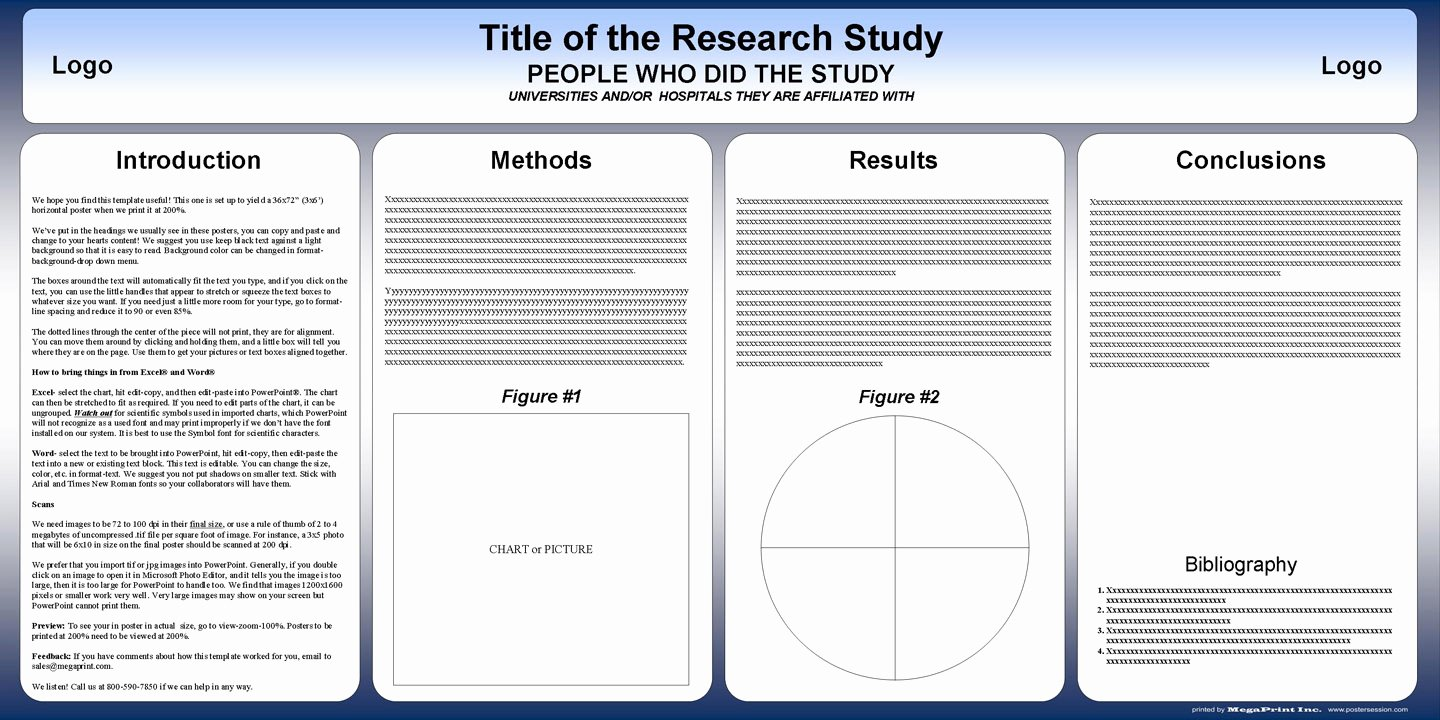Research Poster Templates Free Lovely Free Powerpoint Scientific Research Poster Templates for