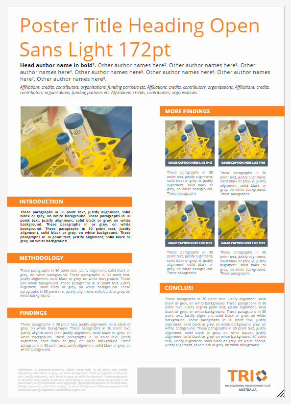 Research Poster Templates Free New Science Poster Templates