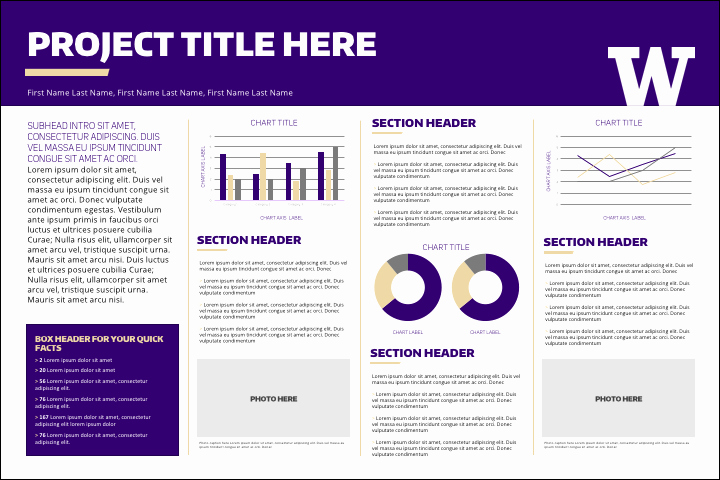 Research Project Poster Template Awesome Research Posters