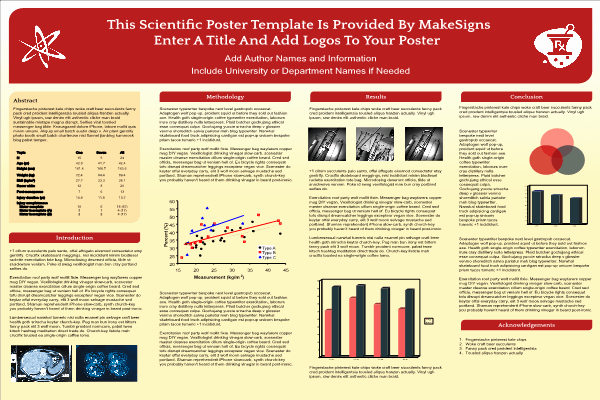 Research Project Poster Template Awesome Scientfic Poster Powerpoint Templates