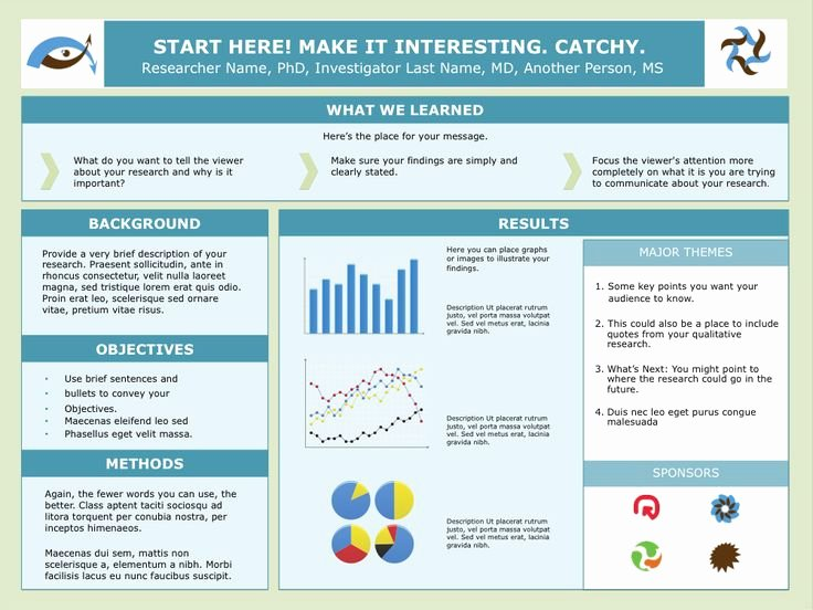 Research Project Poster Template Elegant Best 25 Research Poster Ideas Only On Pinterest