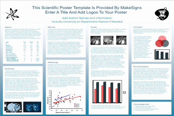 Research Project Poster Template Lovely Scientfic Poster Powerpoint Templates