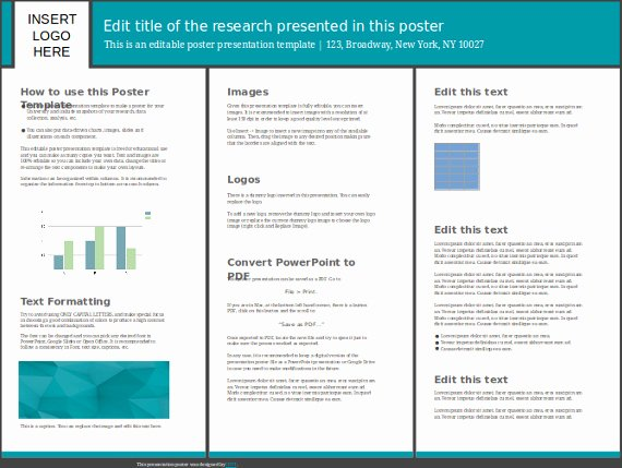 Research Project Poster Template New 8 Powerpoint Poster Templates Ppt