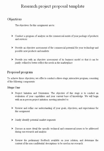 Research Proposal Outline Example Best Of Nsf Research Proposal Reviewer 1989