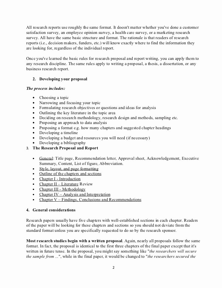 Research Proposal Outline Example Inspirational Detailed Outline Of Research Proposal