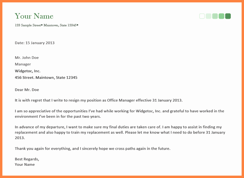 Resign Letter Short Notice Lovely 5 Sample Letter Of Resignation Short Notice
