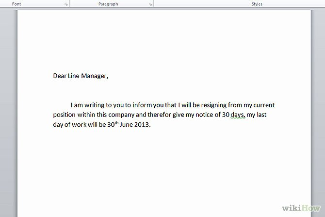 Resign Letter Short Notice Luxury Download Resignation Letters Pdf & Doc