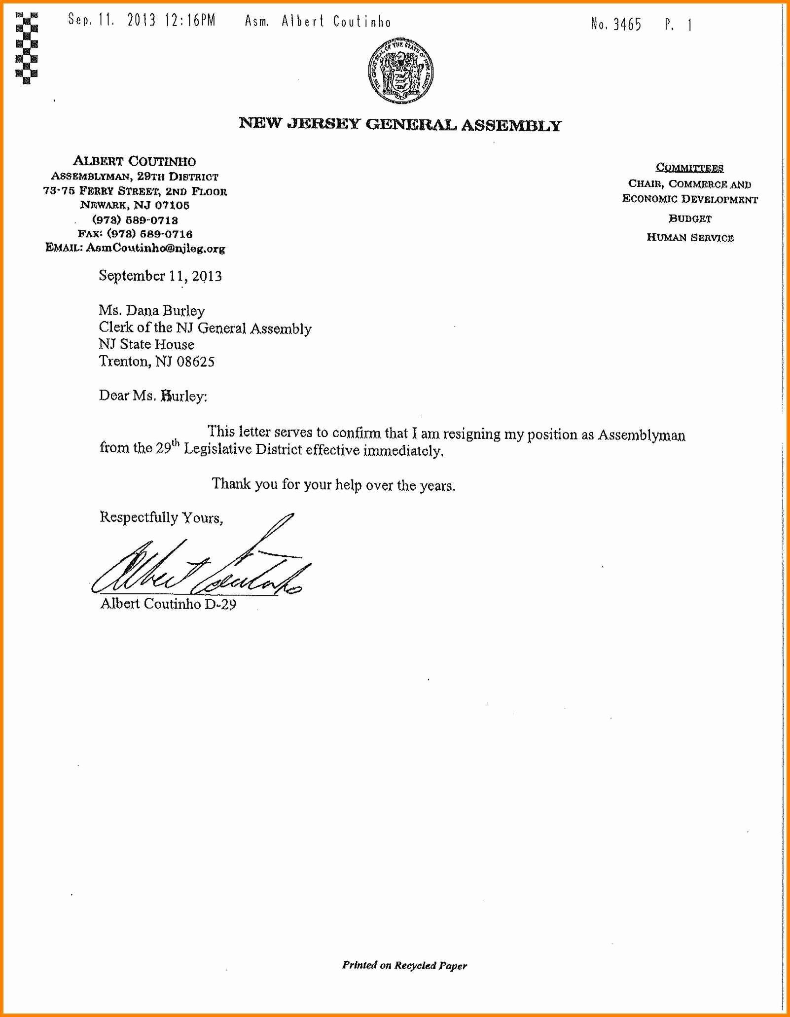 Resignation Letter Effective Immediately Best Of 6 Effective Immediately Resignation