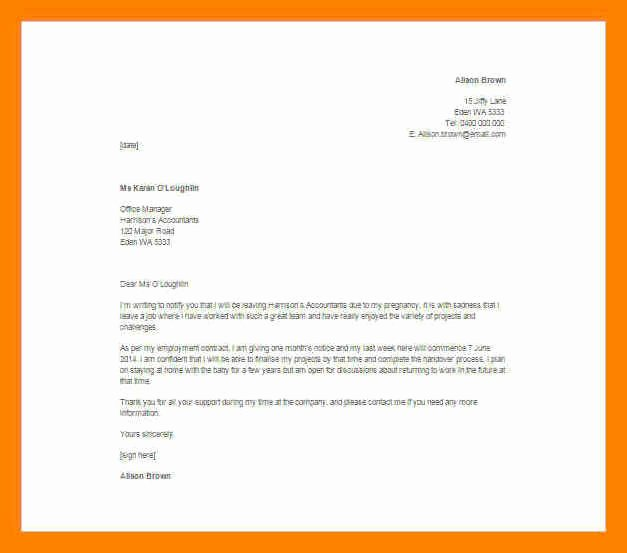 Resignation Letter Effective Immediately Best Of 7 Effective Immediately Resignation Letter Sample