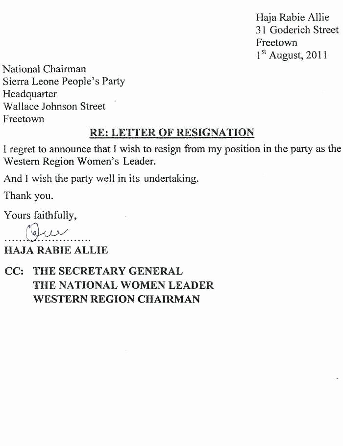 Resignation Letter Effective Immediately Inspirational 8 Resignation Letter Effective Immediately