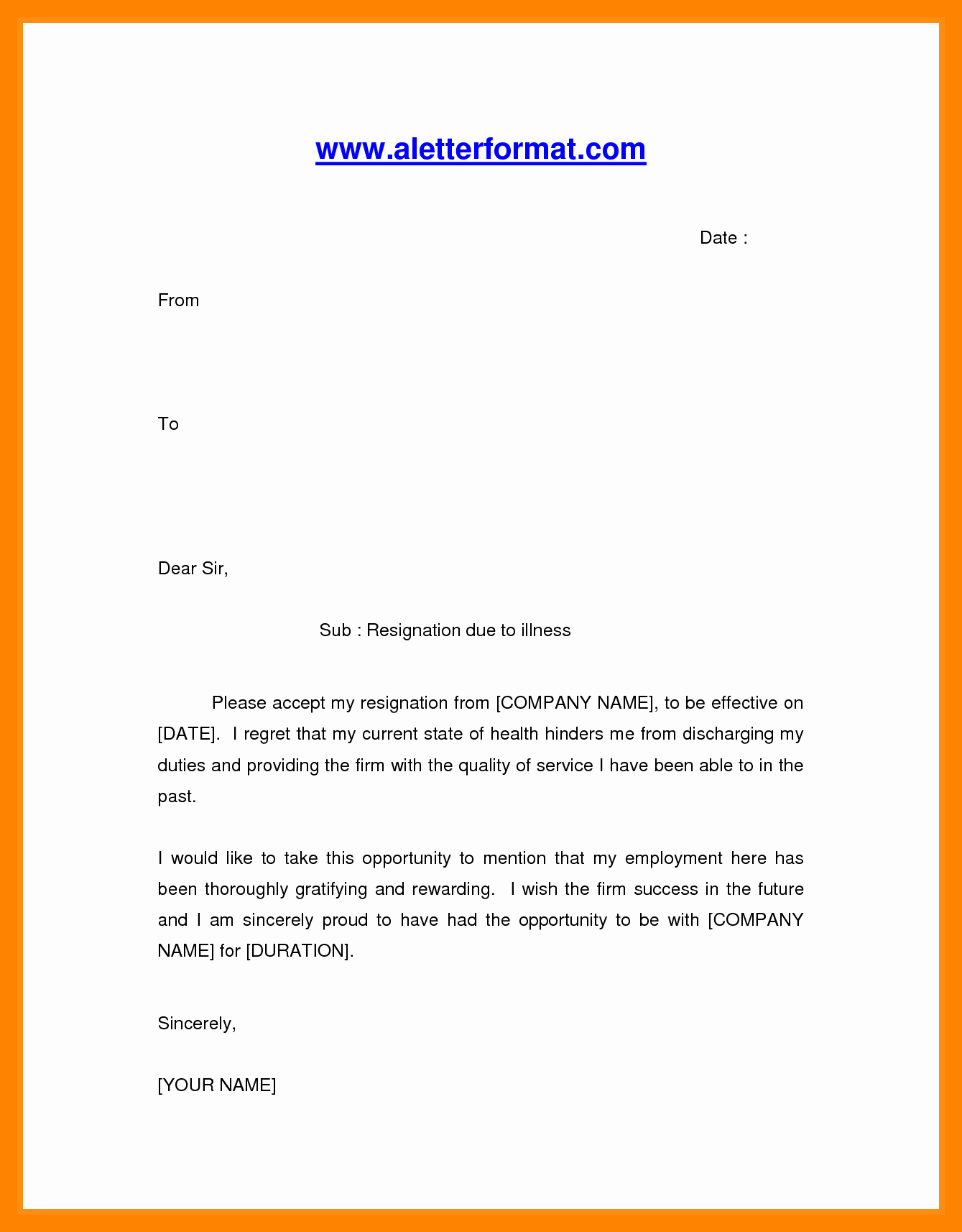 Resignation Letter for Family Reason Lovely 6 Resignation Letter Family Reason
