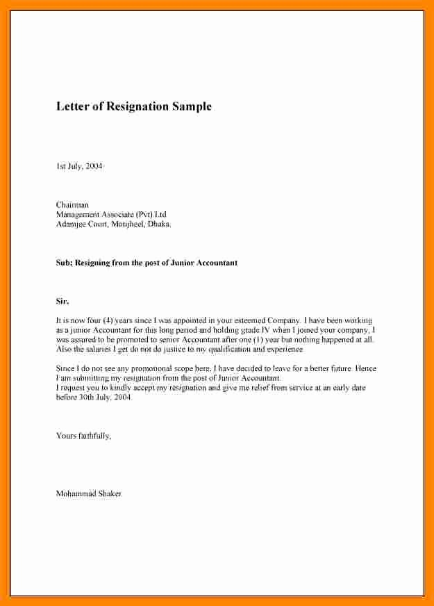 Resignation Letter for Family Reason Lovely 8 Resignation Letter Due to Family Reasons