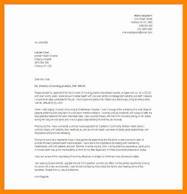 Resignation Letter for Nursing Beautiful 6 Resignation Letter Registered Nurse