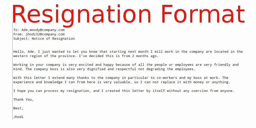 Resignation Letter format In Word Awesome June 2015 Samples Business Letters