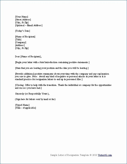 Resignation Letter format In Word Beautiful Pin by Skippy Peanuts On Work Ideas