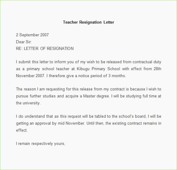 Resignation Letter format In Word Elegant format – New Pany Driver