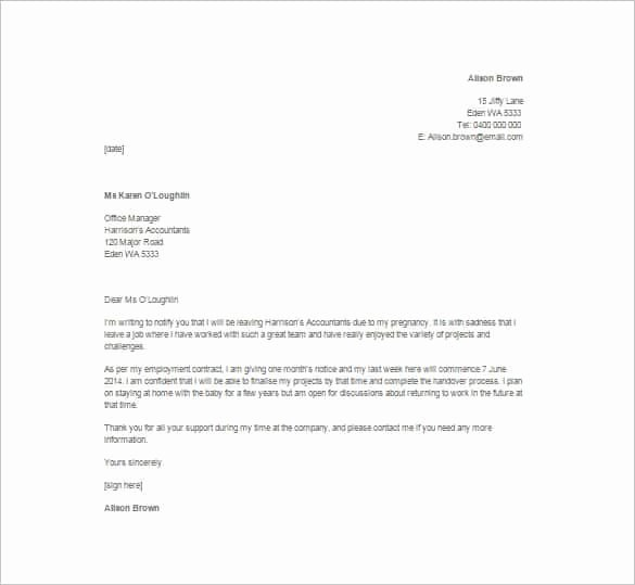 Resignation Letter format In Word Fresh 6 Resignation Letters with Plaint – Find Word Letters