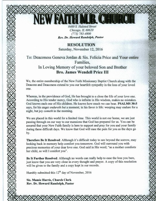 Resolutions for Funerals Examples Unique Resolution for Deceased Church Member to Pin On