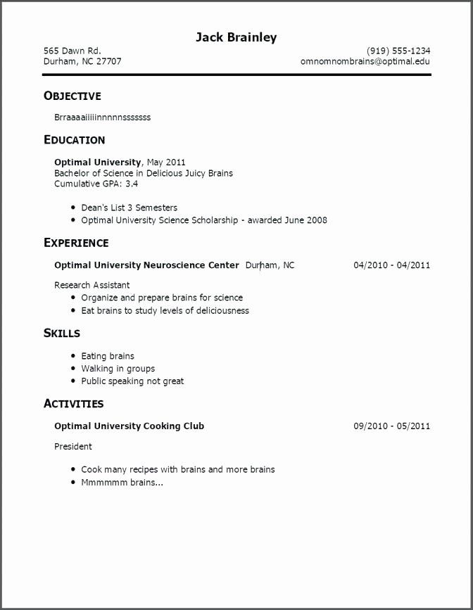Resume for First Job Examples Elegant Resume Template for Teenagers – Skinalluremedspa
