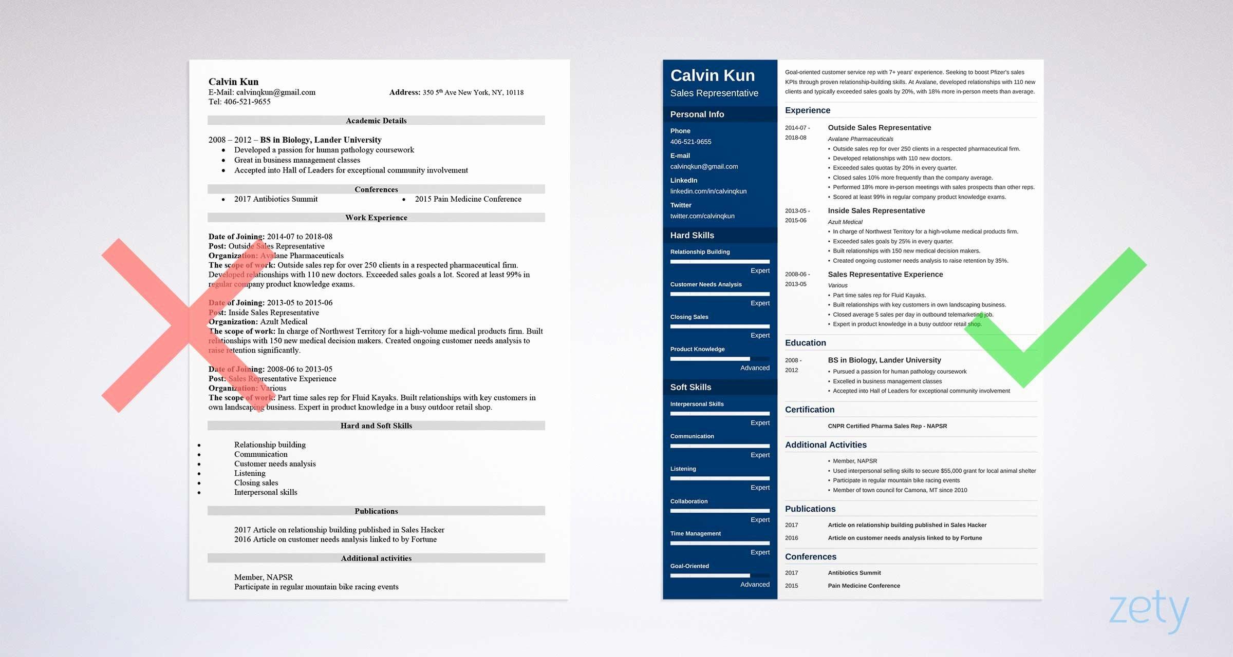 Resume for Sales Representative Position Awesome Sales Representative Resume Sample & Writing Guide [20