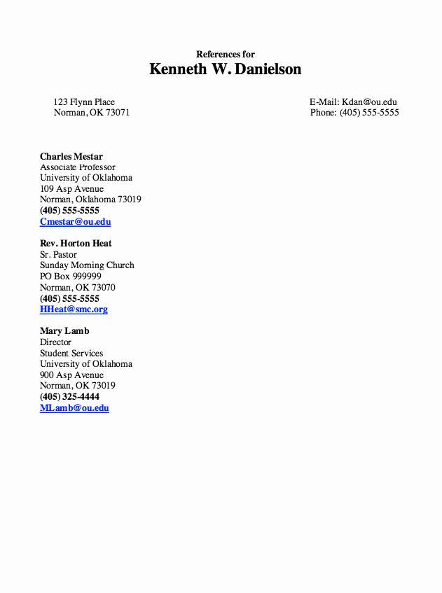 Resume Reference Sheet Example Fresh Pin by Latifah On Example Resume Cv
