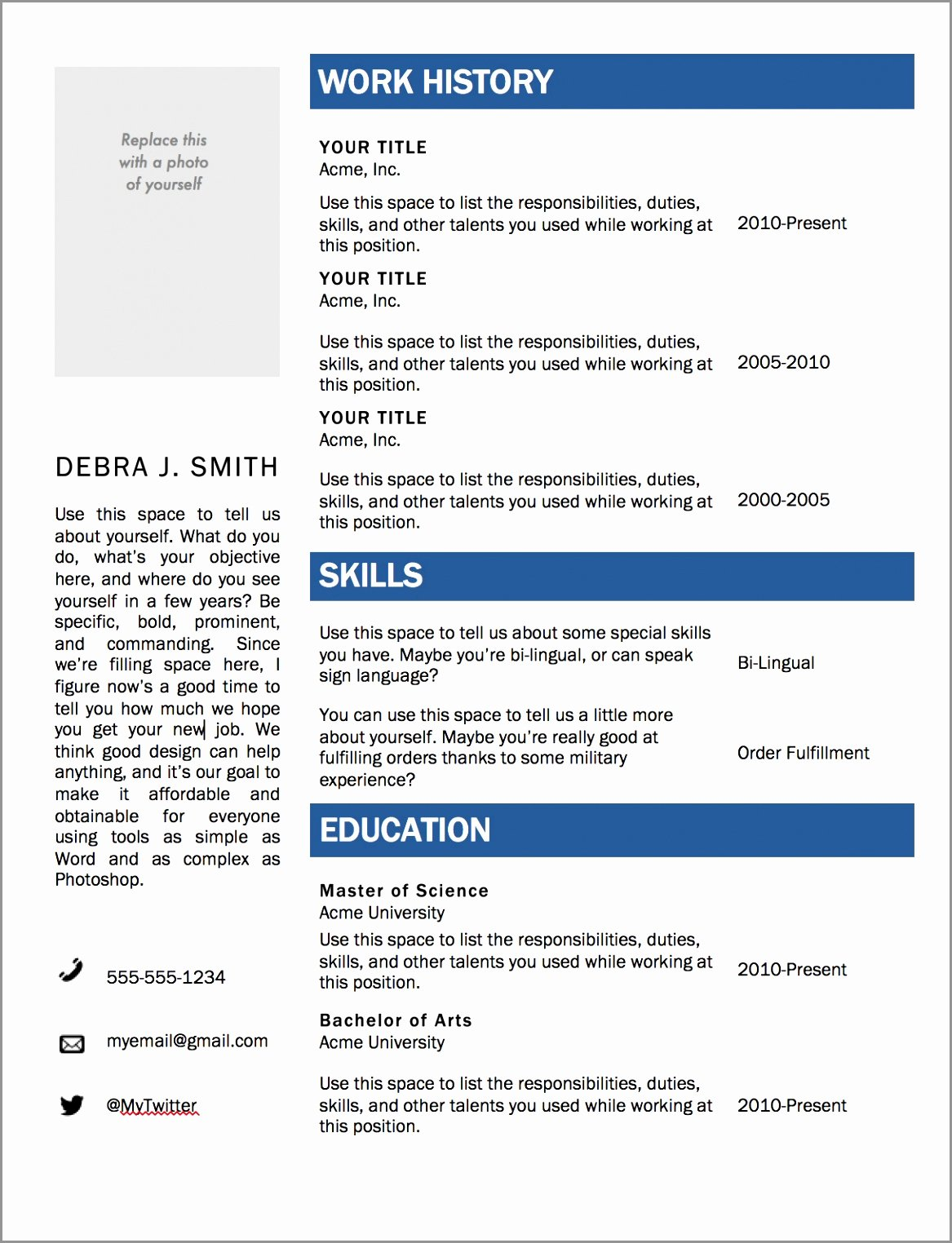 Resume Template Microsoft Word 2003 Elegant 7 Cv Template Microsoft Word 2007