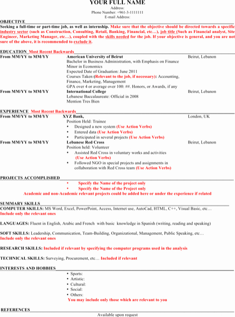 Resume Template Microsoft Word 2003 Fresh Download Microsoft Word Resume Template for Free