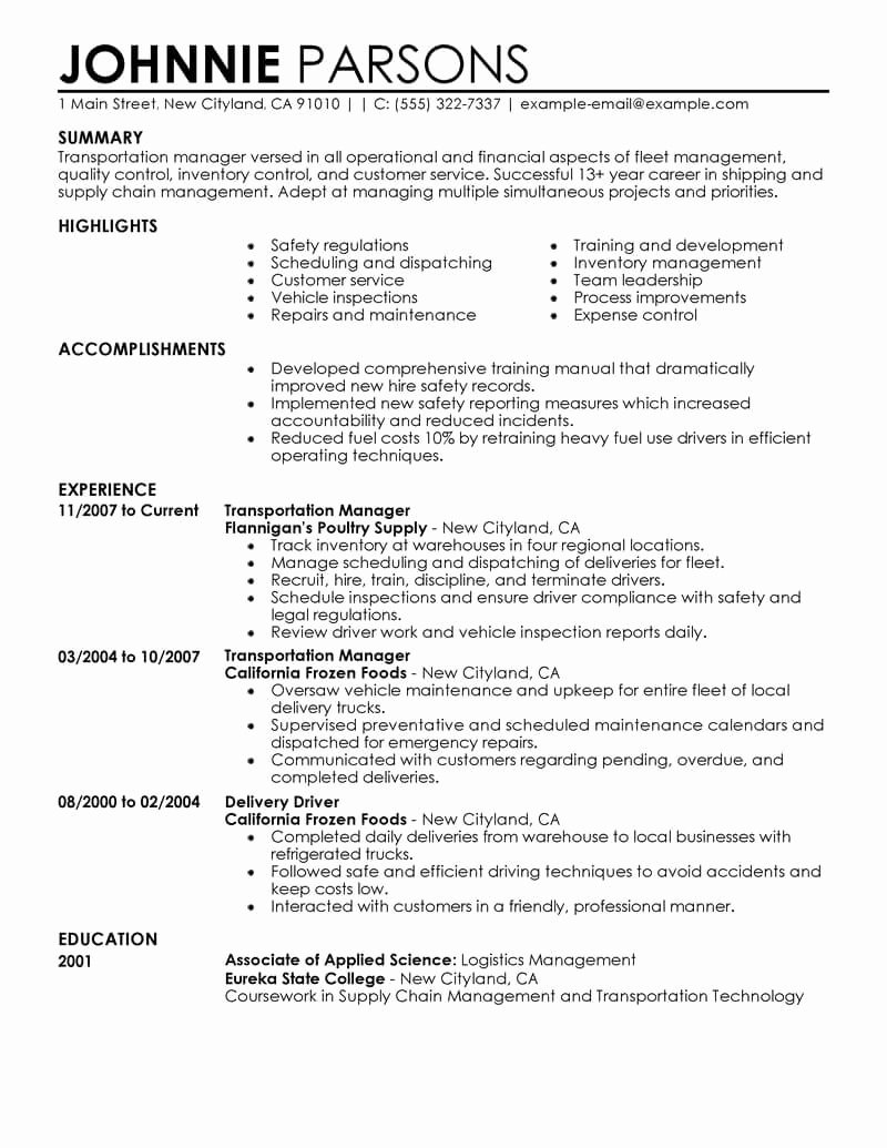 Retail Store Manager Resume Samples Best Of Best Store Manager Resume Example