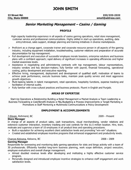 Retail Store Manager Resume Samples Fresh Store Manager Resume Sample & Template