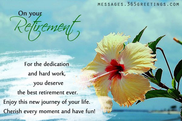 Retirement Goodbye Letter to Coworkers Inspirational Retirement Wishes and Messages 365greetings