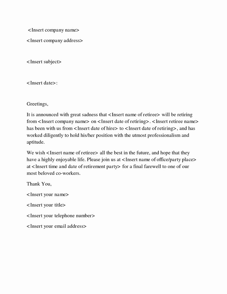 Retirement Goodbye Letter to Coworkers Unique 11 Best Images About Goodbye Letters On Pinterest