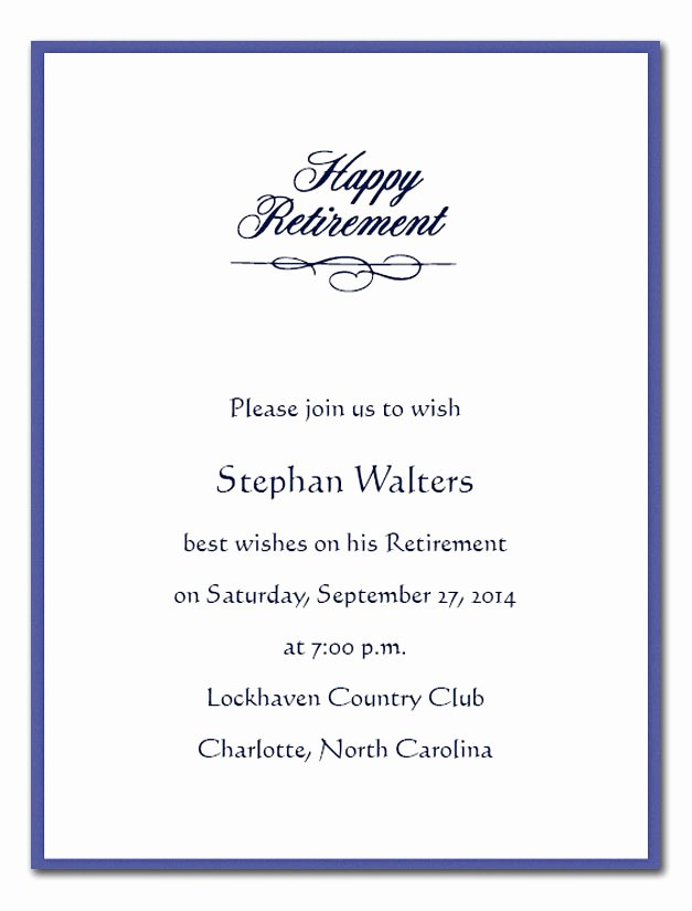 Retirement Party Program Sample Beautiful Happy Retirement Corporate Invitations by Invitation