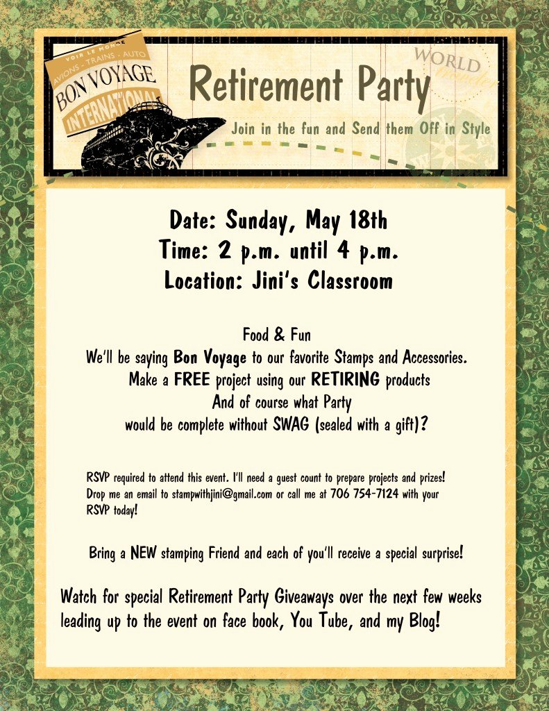 Retirement Party Program Sample Inspirational Retirement Party & Giveaways