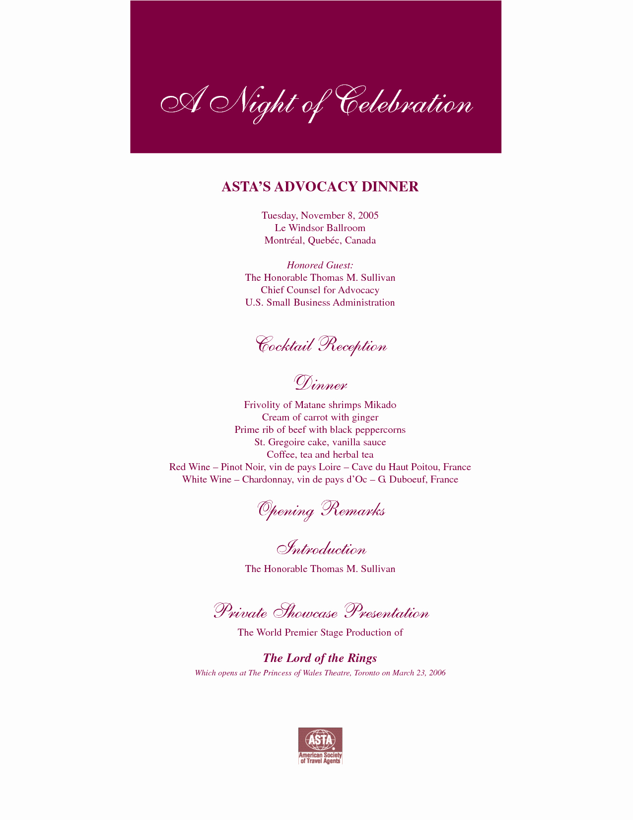 Retirement Party Program Samples Elegant Best S Of Dinner Party Program Templates Sample