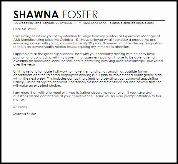 Retirement Resignation Letter Example Best Of Retirement Letter Of Resignation