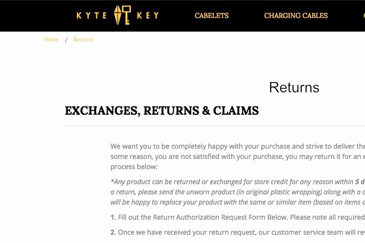 Return and Refund Policy Template Luxury 2019 Return & Refund Policy Template Generator