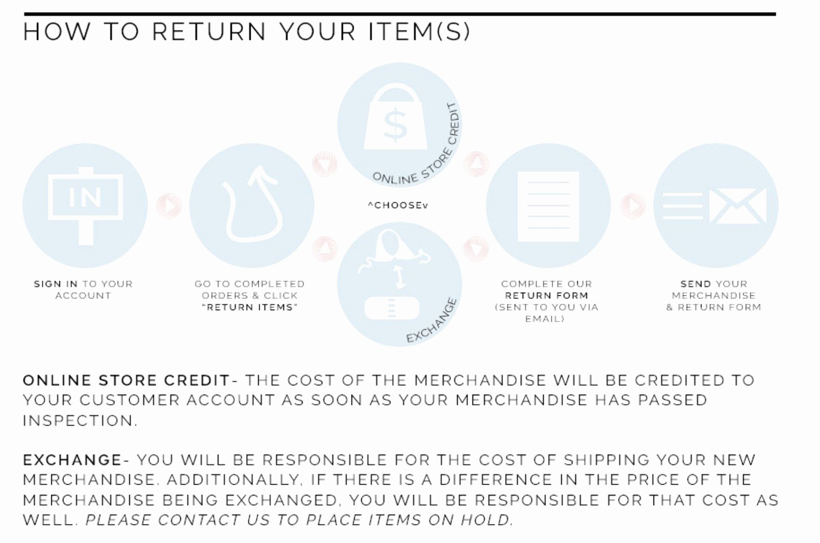Return and Refund Policy Template New How to Write An E Merce Return Policy [template and