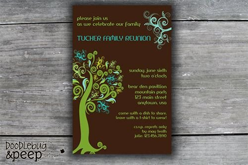 Reunion Invitation Templates Free Awesome Best 25 Family Reunion Invitations Ideas On Pinterest