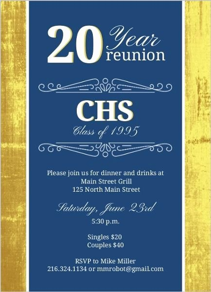 Reunion Invitation Templates Free Fresh Best 25 Class Reunion Invitations Ideas On Pinterest
